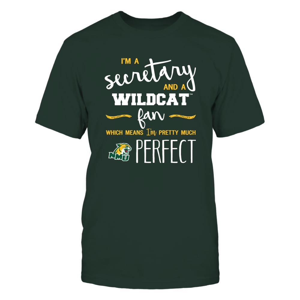 Northern Michigan Wildcats - Perfect Secretary - Team Front picture