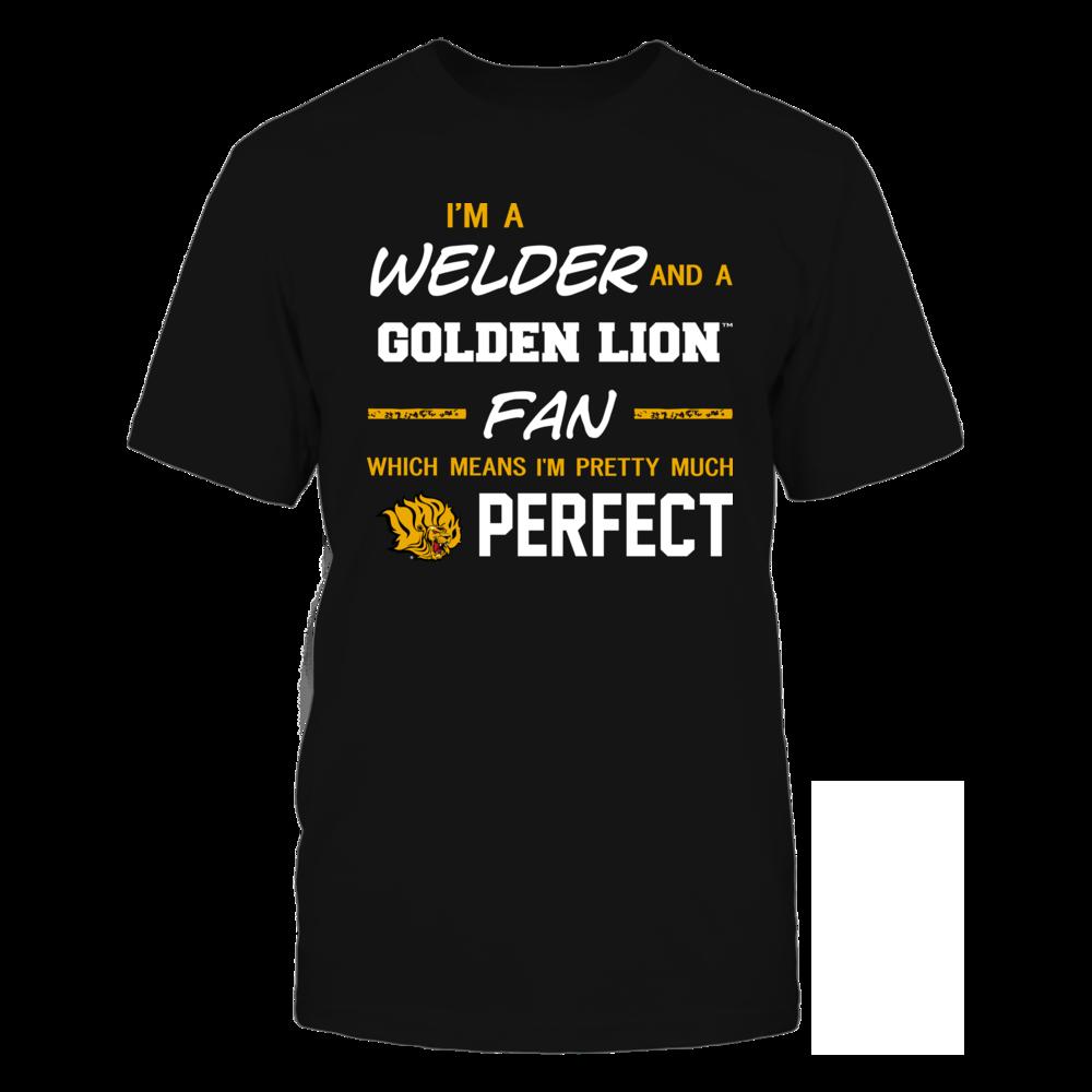 Arkansas Pine Bluff Golden Lions - Perfect Welder - Team Front picture