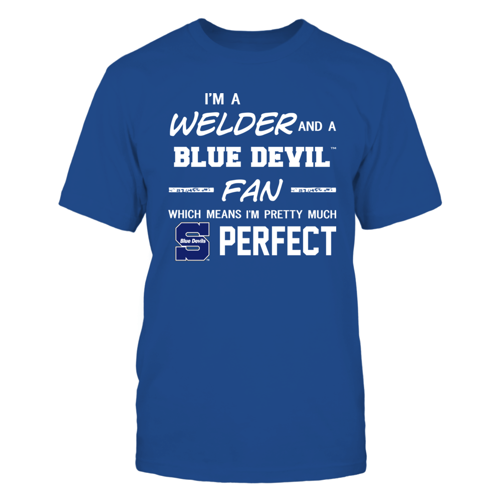 Wisconsin Stout Blue Devils - Perfect Welder - Team Front picture