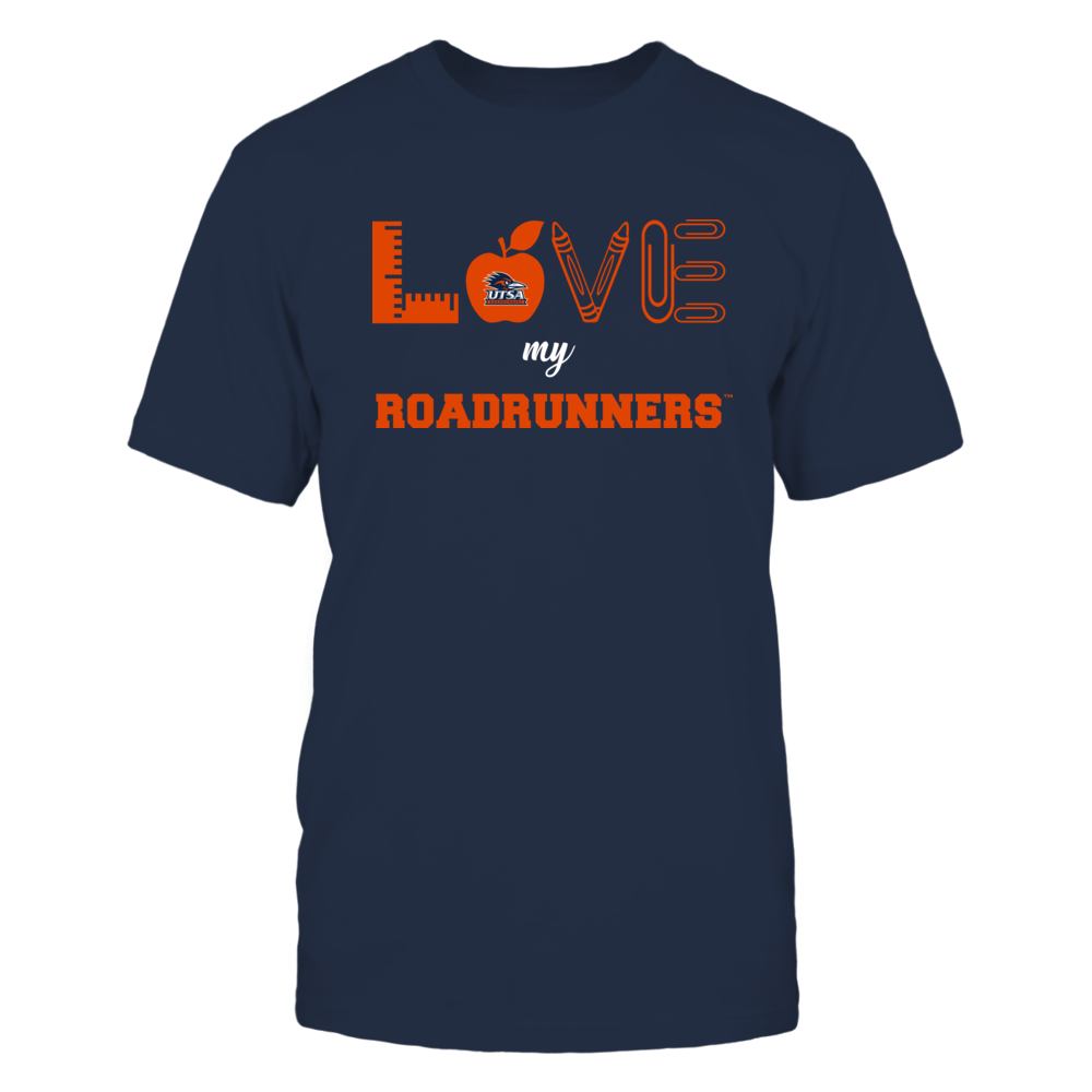 UTSA Roadrunners - Love - Teacher Symbols - Team Front picture