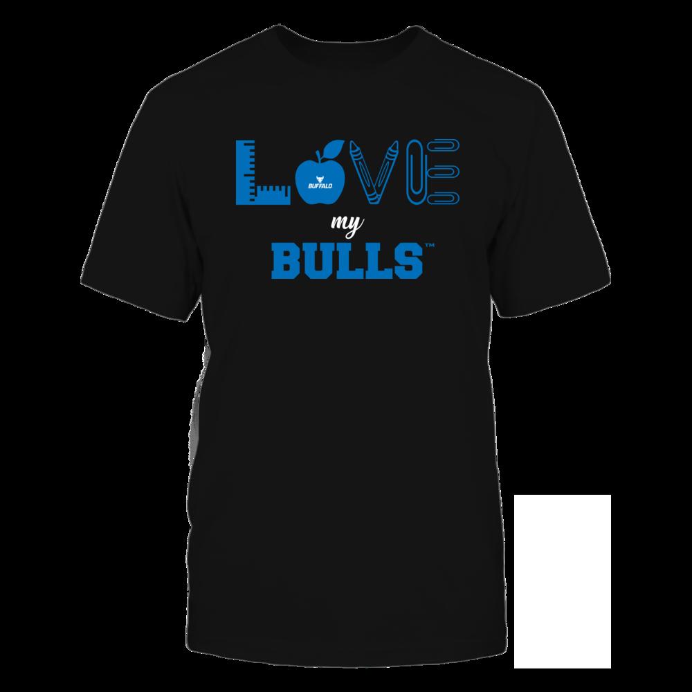 Buffalo Bulls - Love - Teacher Symbols - Team Front picture