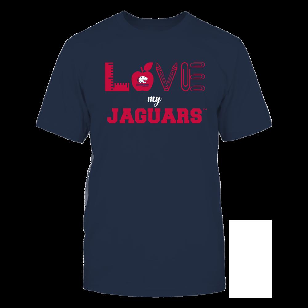 South Alabama Jaguars - Love - Teacher Symbols - Team Front picture