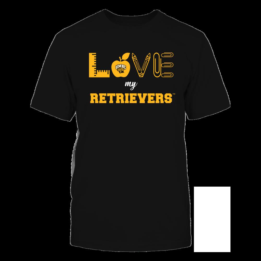 UMBC Retrievers - Love - Teacher Symbols - Team Front picture