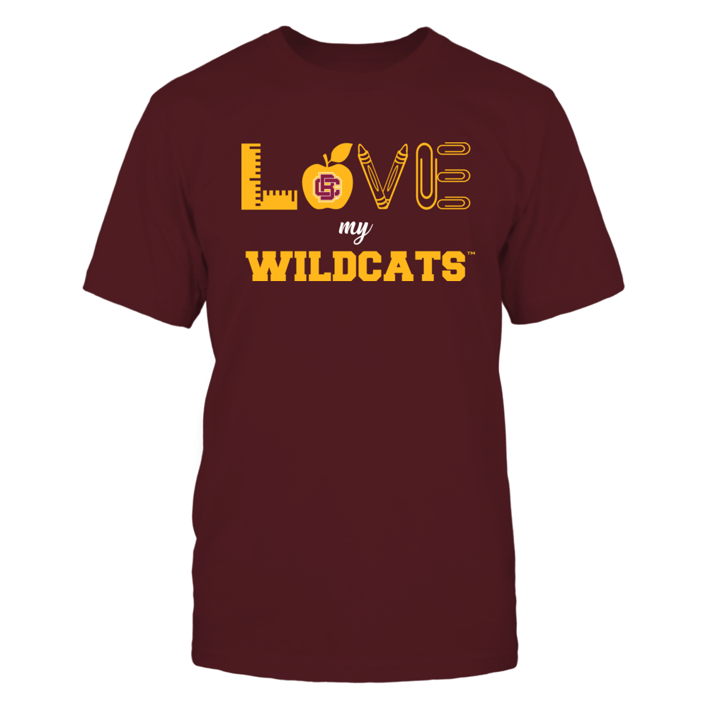 Bethune-Cookman Wildcats - Love - Teacher Symbols - Team Front picture