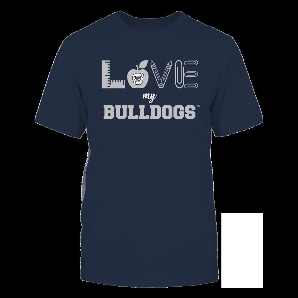 Butler Bulldogs - Love - Teacher Symbols - Team Front picture