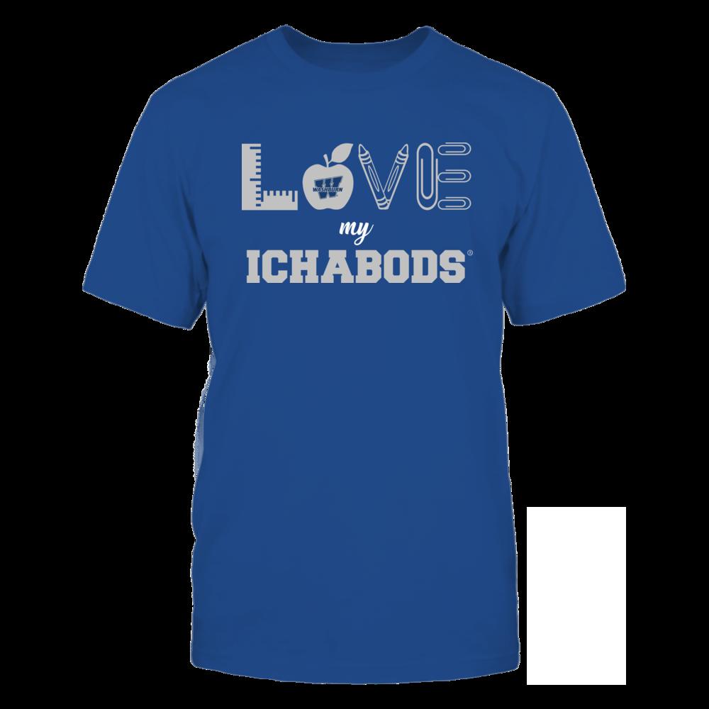 Washburn Ichabods - Love - Teacher Symbols - Team Front picture