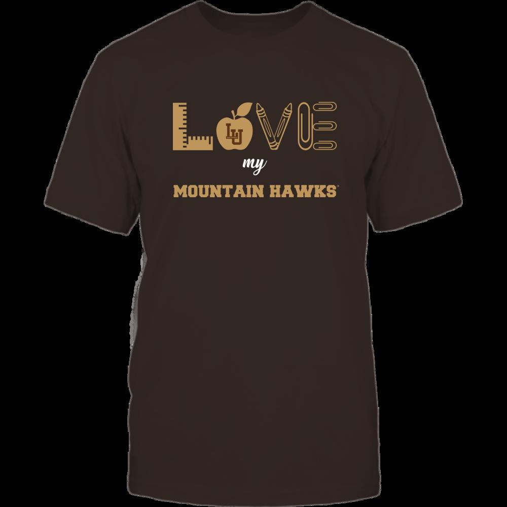 Lehigh Mountain Hawks - Love - Teacher Symbols - Team Front picture