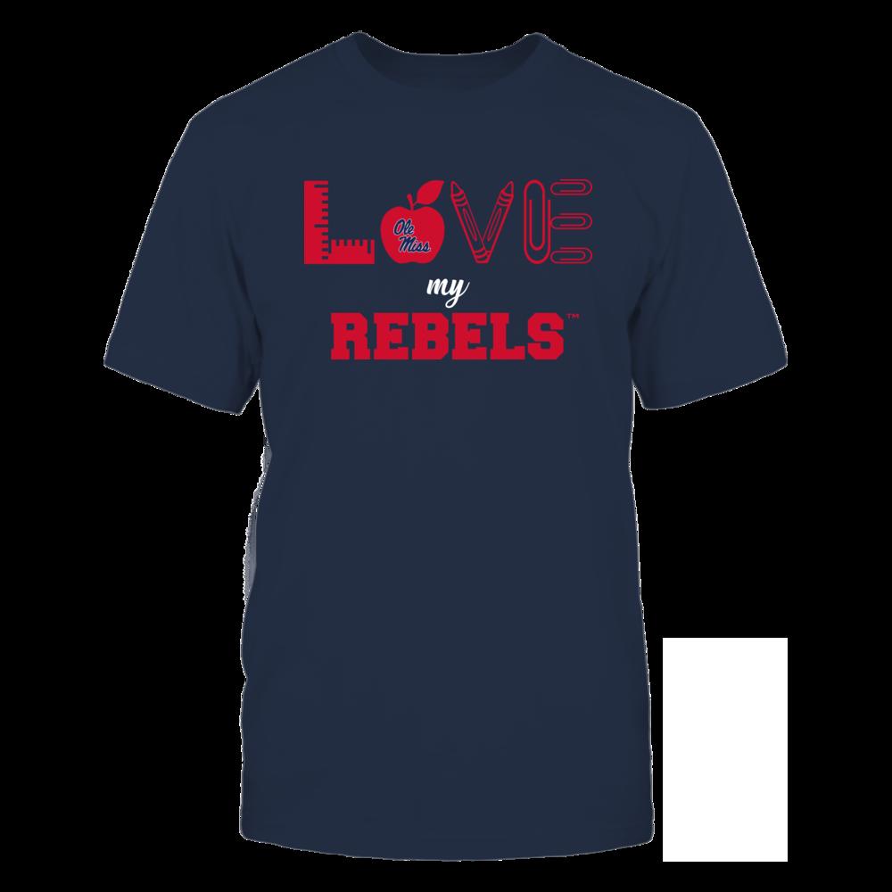 Ole Miss Rebels - Love - Teacher Symbols - Team Front picture