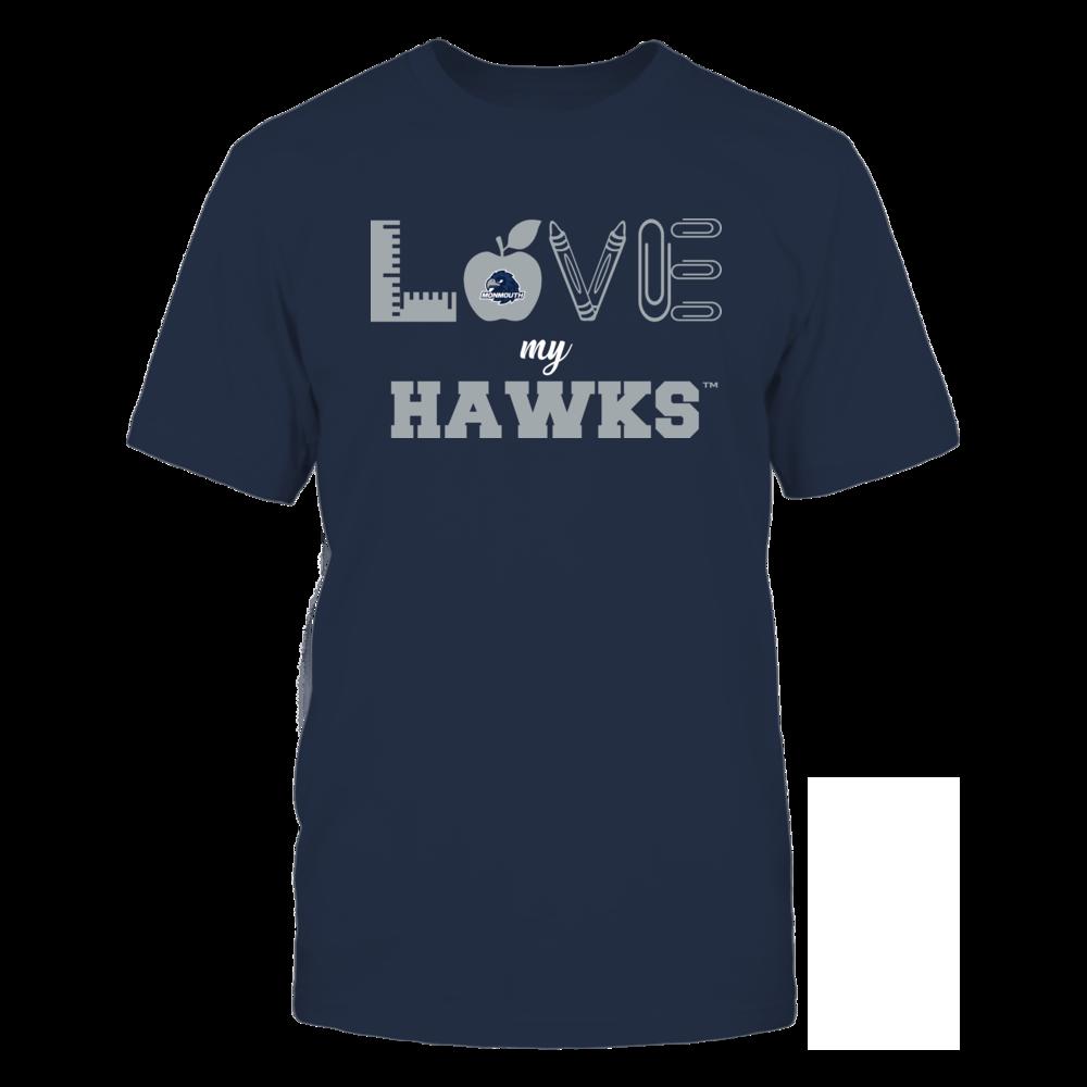 Monmouth Hawks - Love - Teacher Symbols - Team Front picture