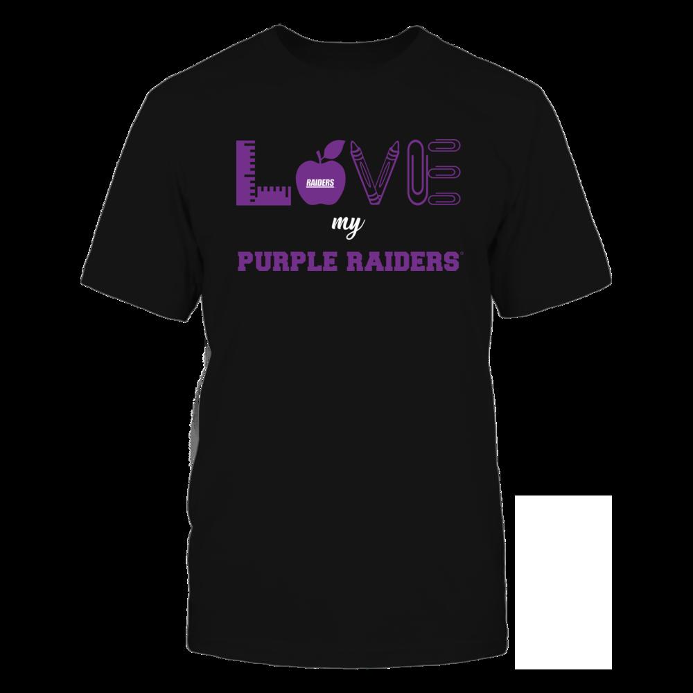 Mount Union Raiders - Love - Teacher Symbols - Team Front picture