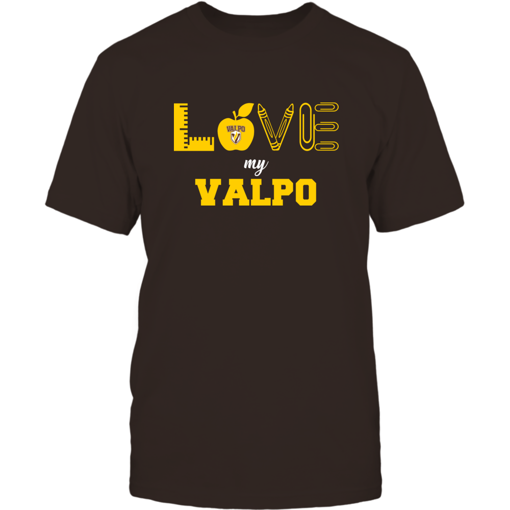 Valparaiso Crusaders - Love - Teacher Symbols - Team Front picture