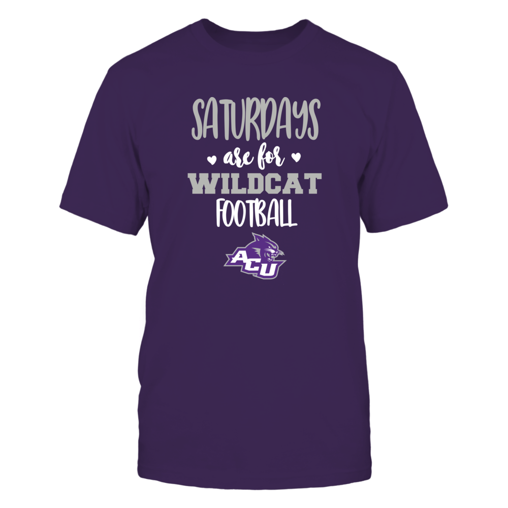 Abilene Christian Wildcats - Saturdays Are For Football - Team Front picture