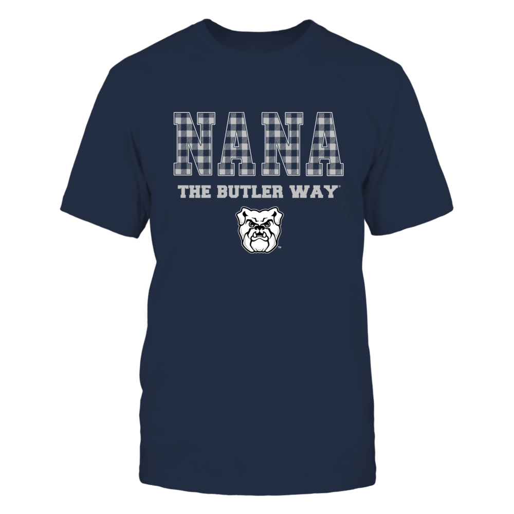 Butler Bulldogs - Checkered Pattern - Slogan - Nana Front picture