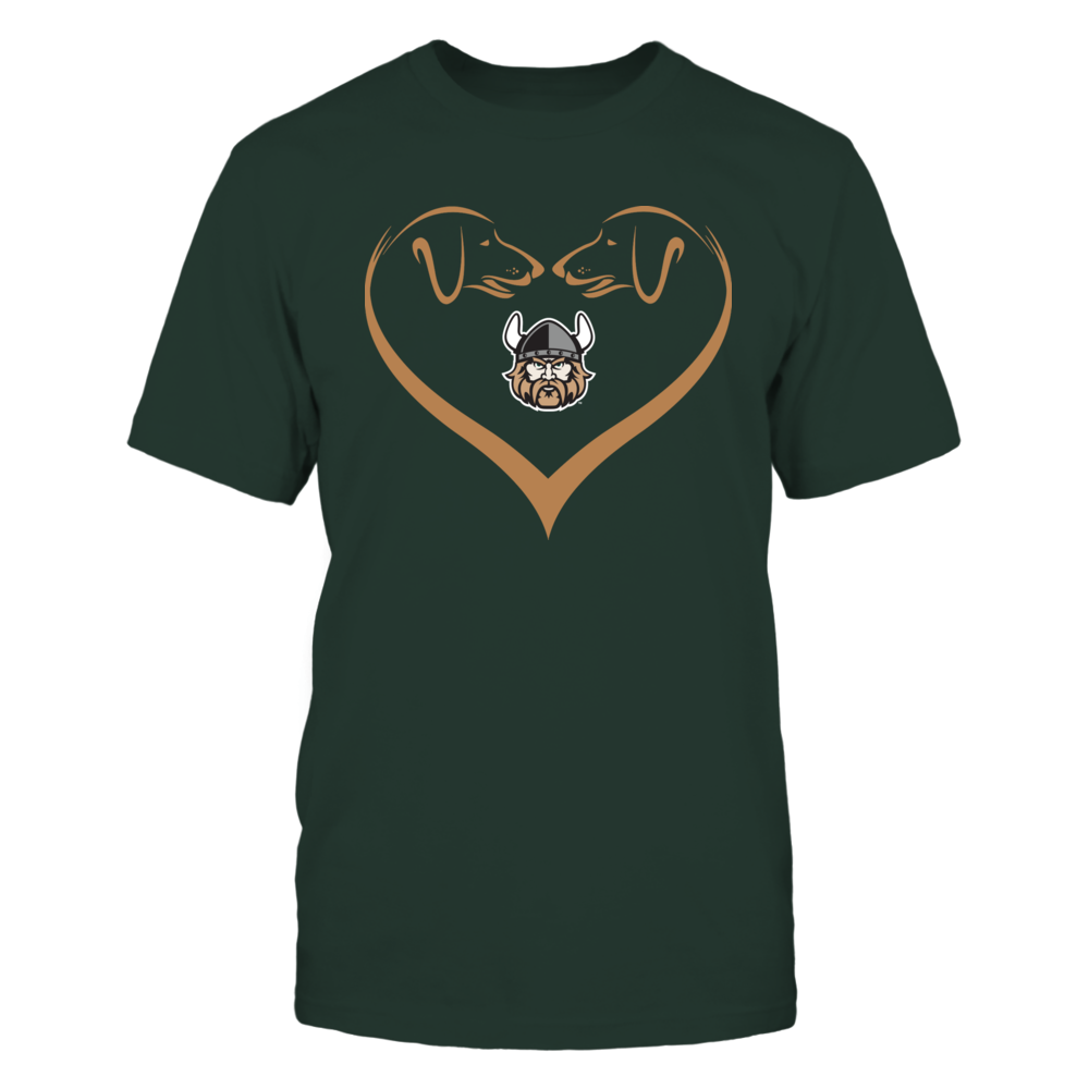 Cleveland State Vikings - Dog Heart Shape - Team Front picture