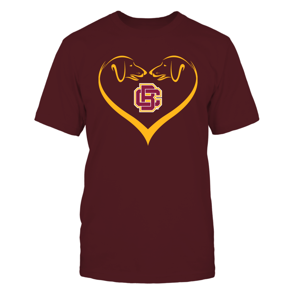 Bethune-Cookman Wildcats - Dog Heart Shape - Team Front picture