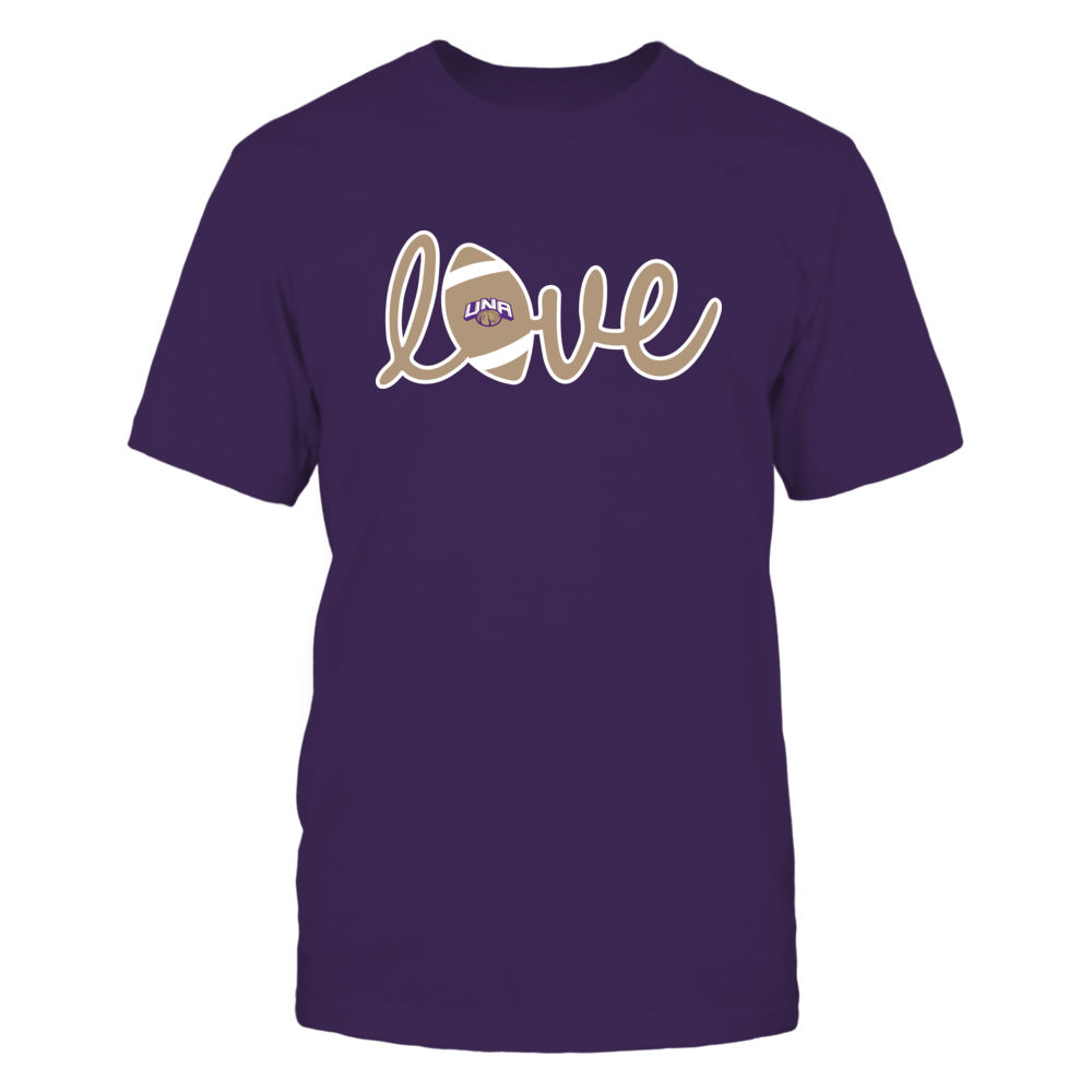 North Alabama Lions - Lowercase Love - Football Front picture