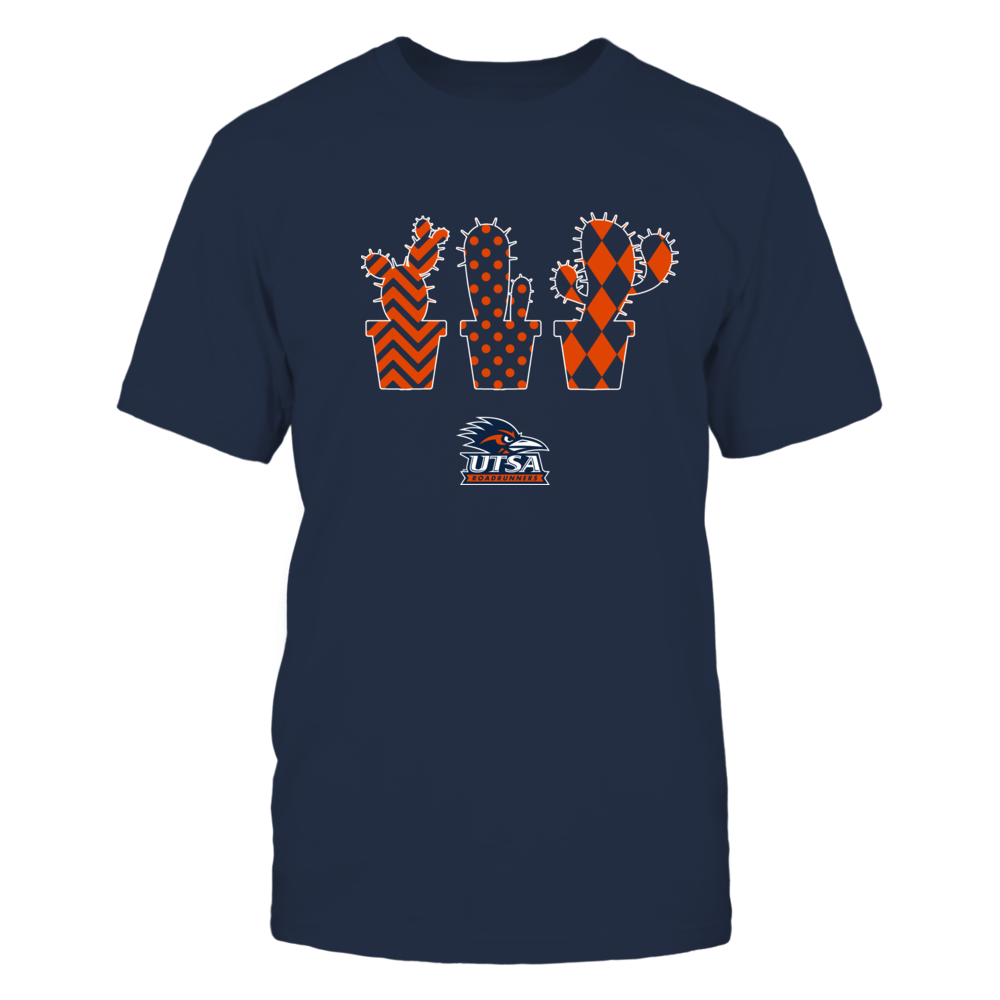 UTSA Roadrunners - Patterned Cactus Pots - Team Front picture