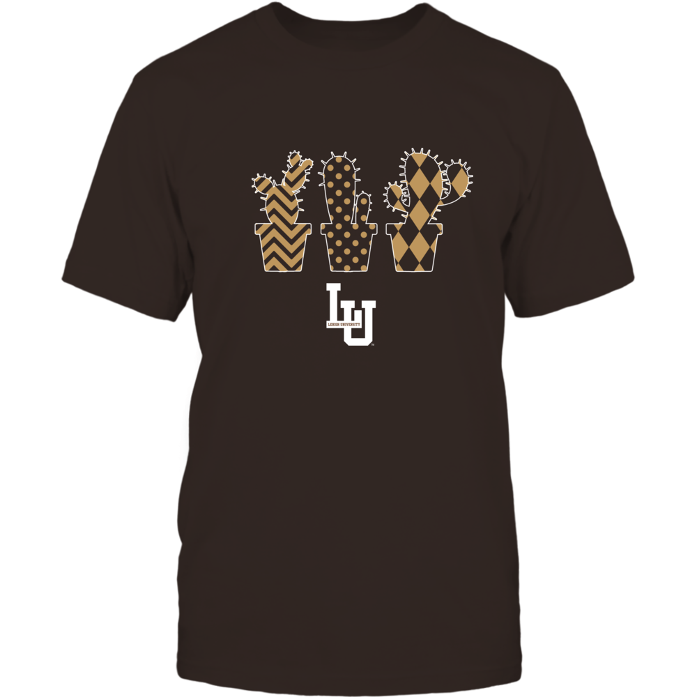Lehigh Mountain Hawks - Patterned Cactus Pots - Team Front picture