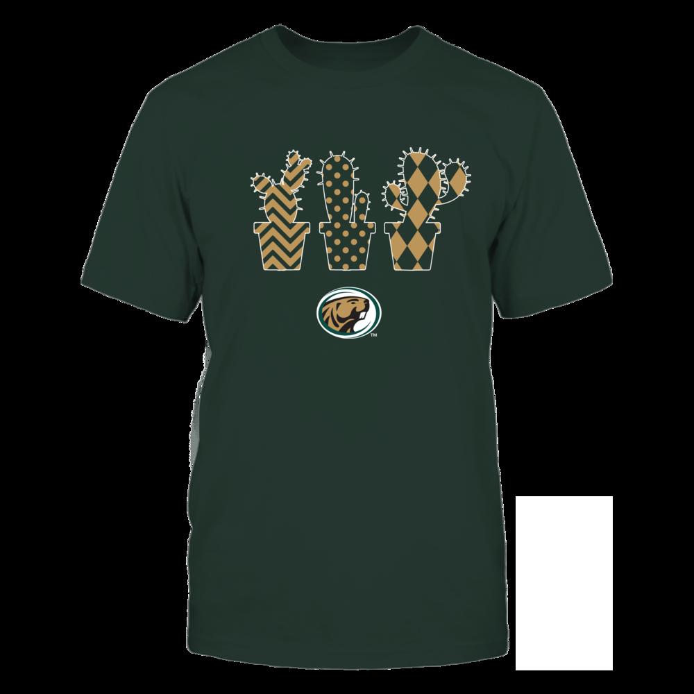 Bemidji State Beavers - Patterned Cactus Pots - Team Front picture
