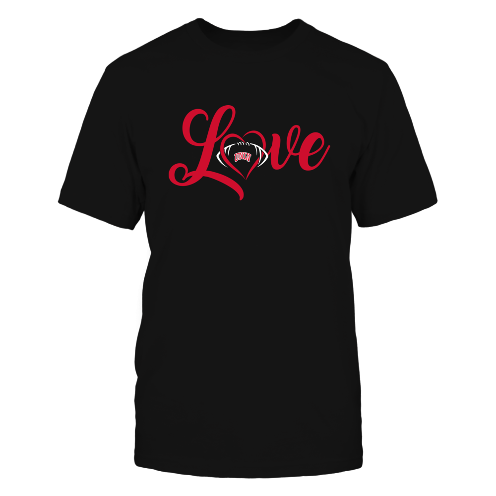 UNLV Rebels - Love Heart - Football - Team Front picture