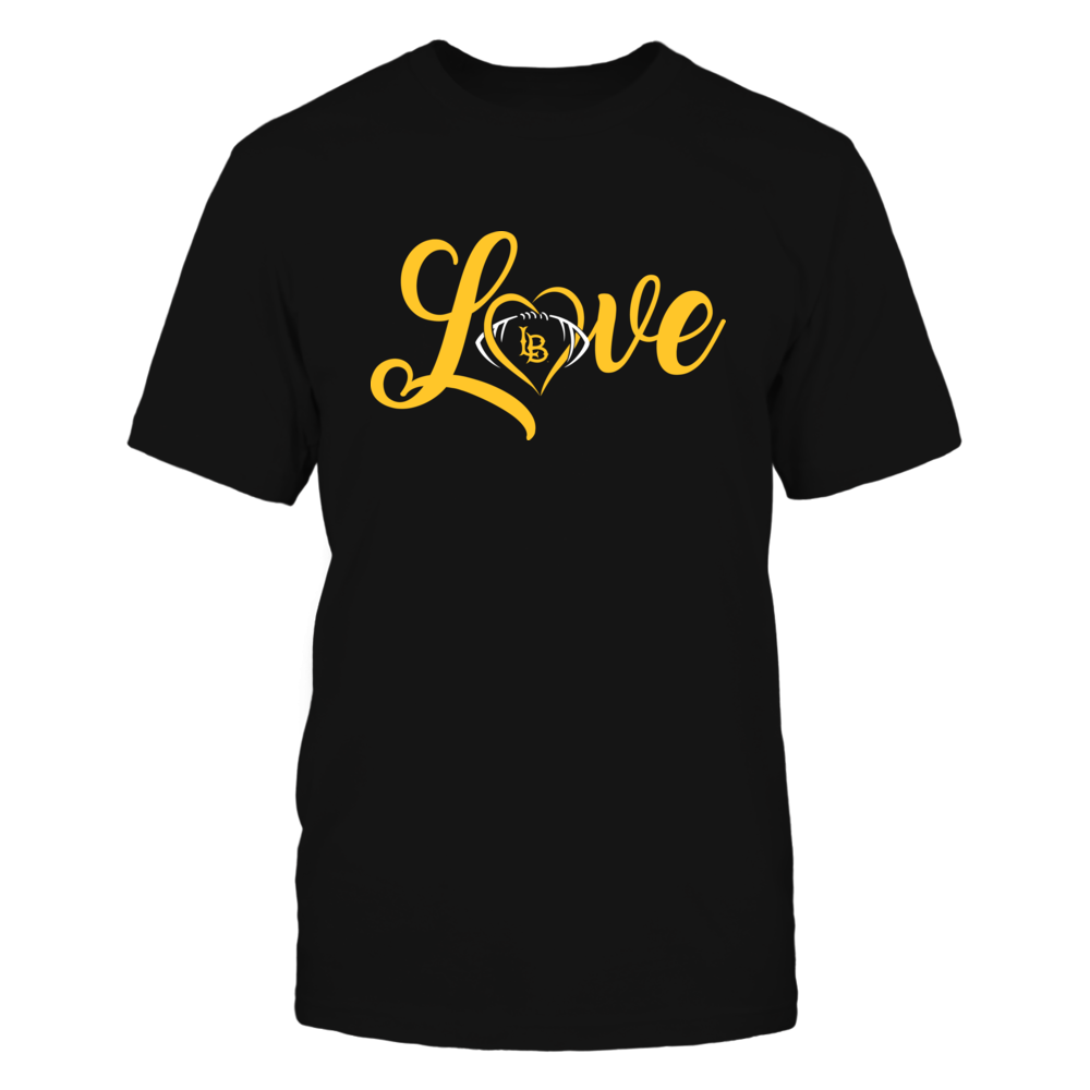 Long Beach State 49ers - Love Heart - Football - Team Front picture