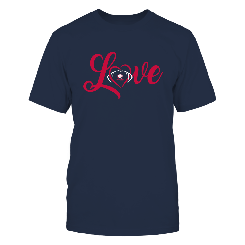 South Alabama Jaguars - Love Heart - Football - Team Front picture