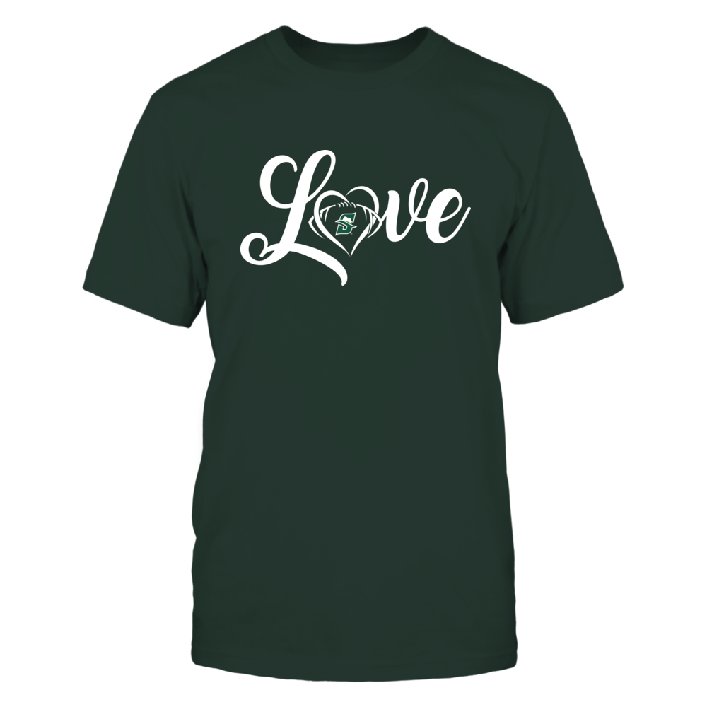Stetson Hatters - Love Heart - Football - Team Front picture