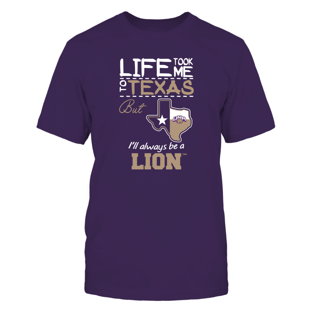 North Alabama Lions - Life Took Me To Texas - Team Front picture