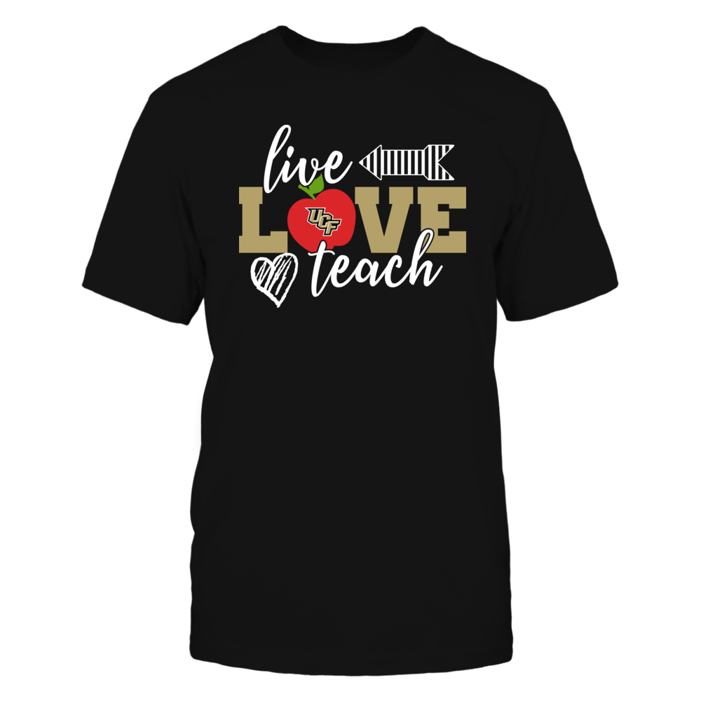UCF Knights - Live Love Teach - IF32-IC32-DS45 Front picture