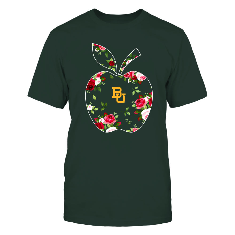 Baylor Bears - Teacher - Floral Apple - Team Front picture
