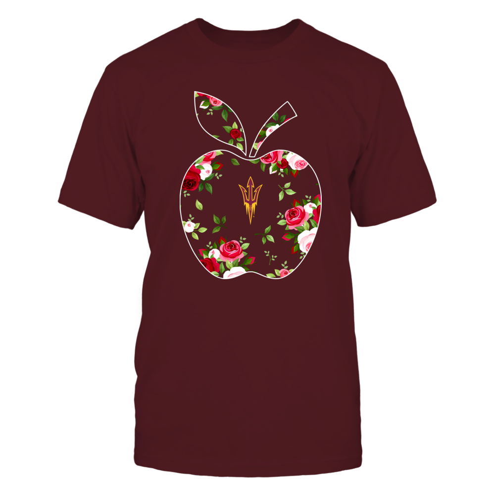 Arizona State Sun Devils - Teacher - Floral Apple - Team Front picture