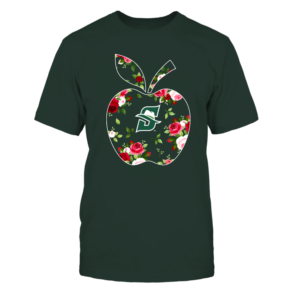 Stetson Hatters - Teacher - Floral Apple - Team Front picture
