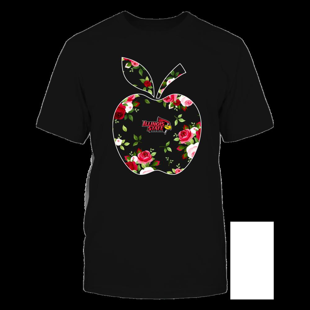 Illinois State Redbirds - Teacher - Floral Apple - Team Front picture