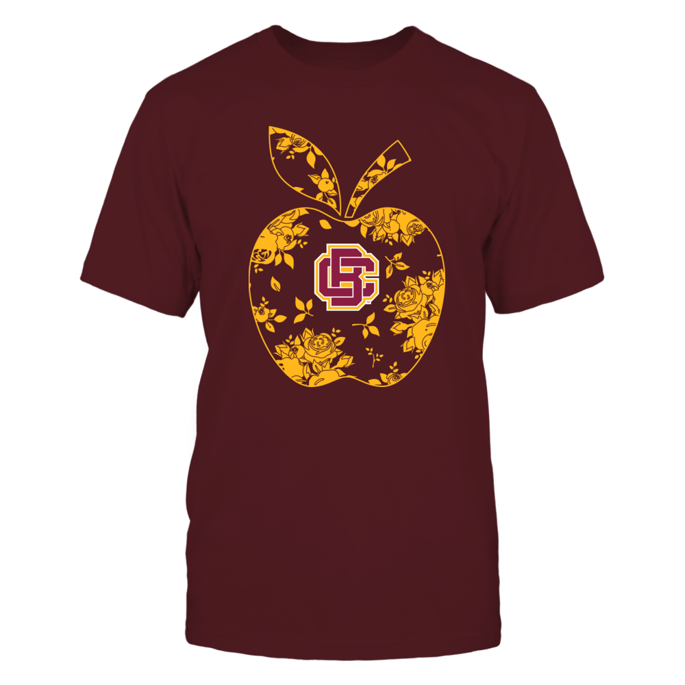 Bethune-Cookman Wildcats - Teacher - Floral Apple - Team - Solid Front picture