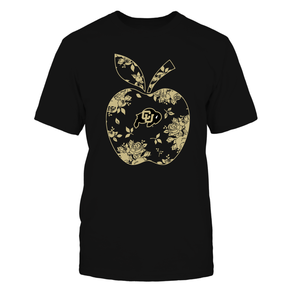 Colorado Buffaloes - Teacher - Floral Apple - Team - Solid Front picture
