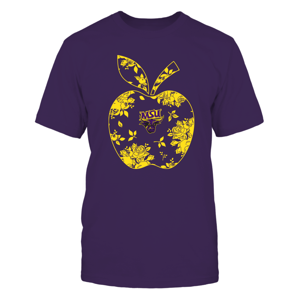 Minnesota State Mavericks - Teacher - Floral Apple - Team - Solid Front picture