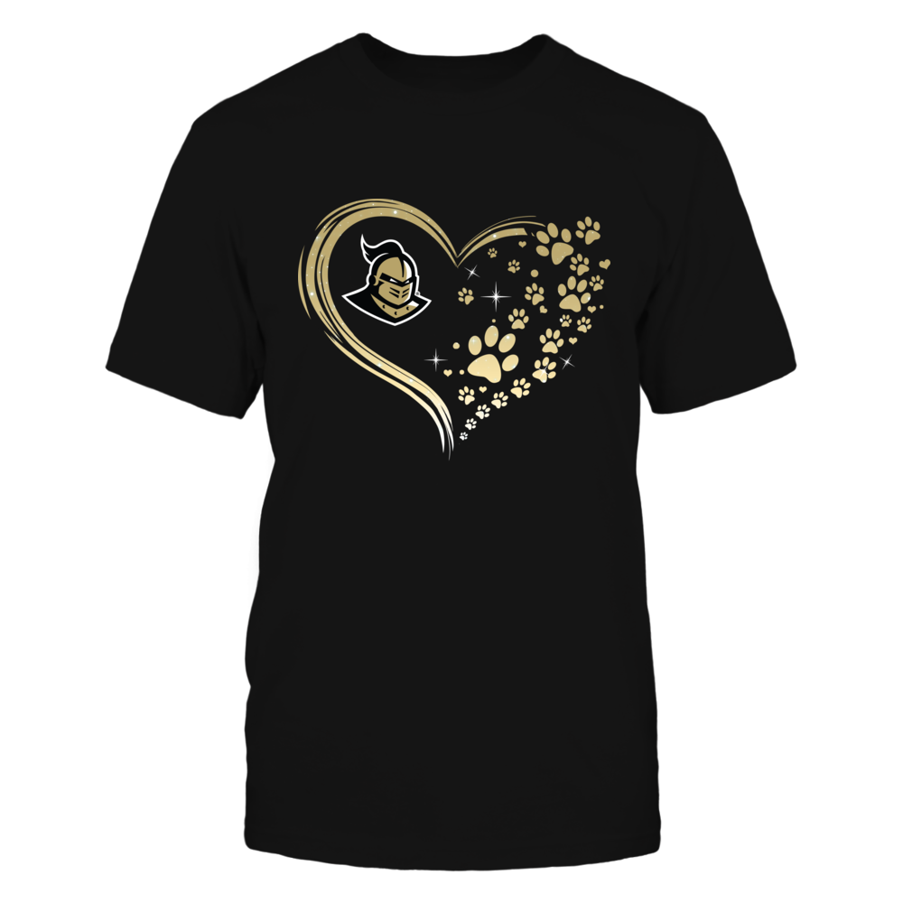 UCF Knights - Beautiful Heart - Paw - IF13-IC13-DS63 Front picture