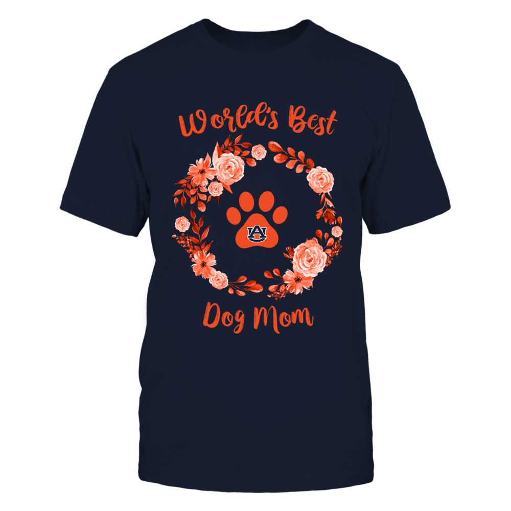 Auburn Tigers - Floral World's Best Mom - Dogs - IF17-IC17-DS45 Front picture
