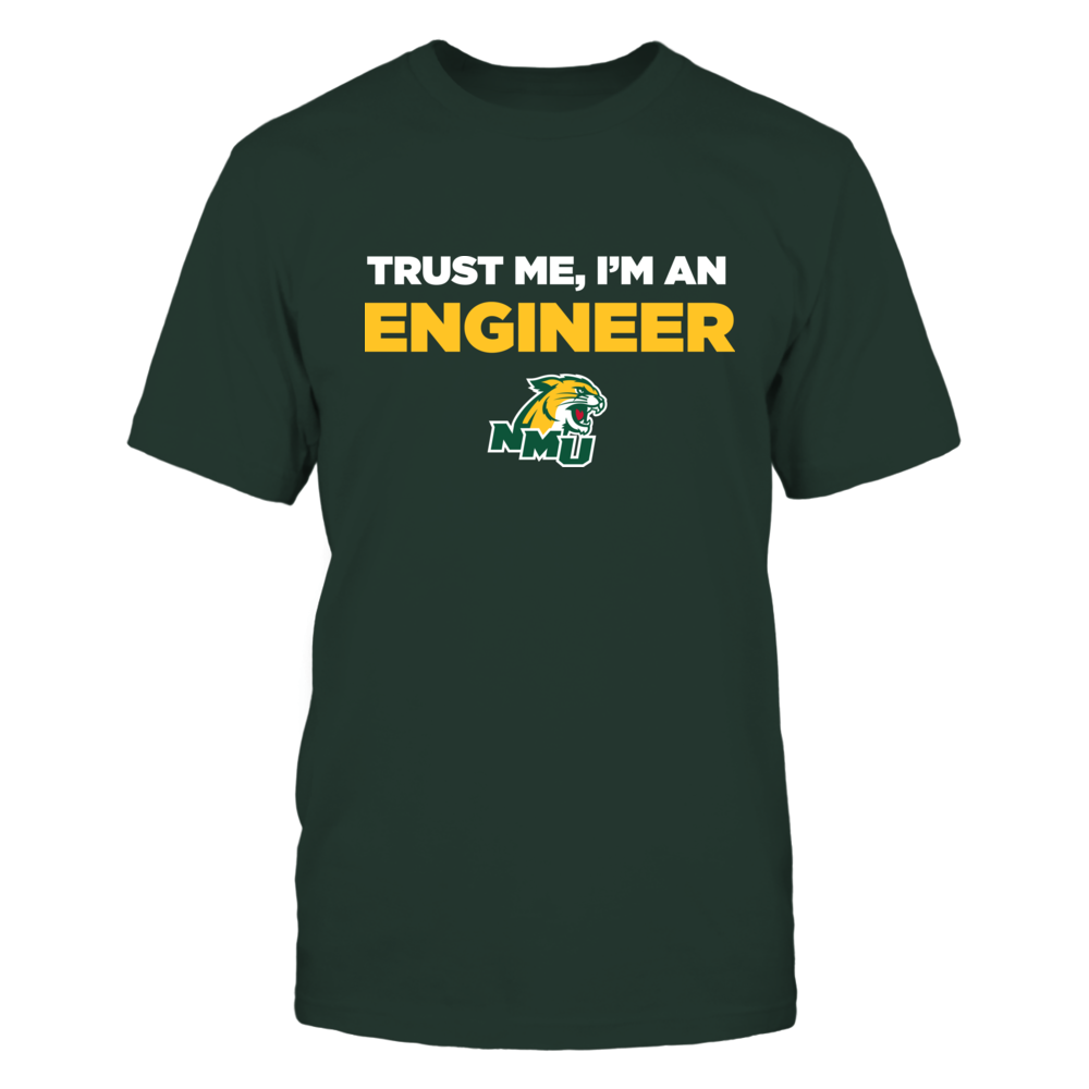 Northern Michigan Wildcats - Trust Me - Engineer - Team Front picture