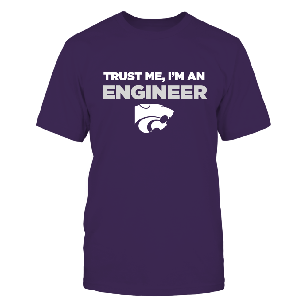 Kansas State Wildcats - Trust Me - Engineer - Team Front picture