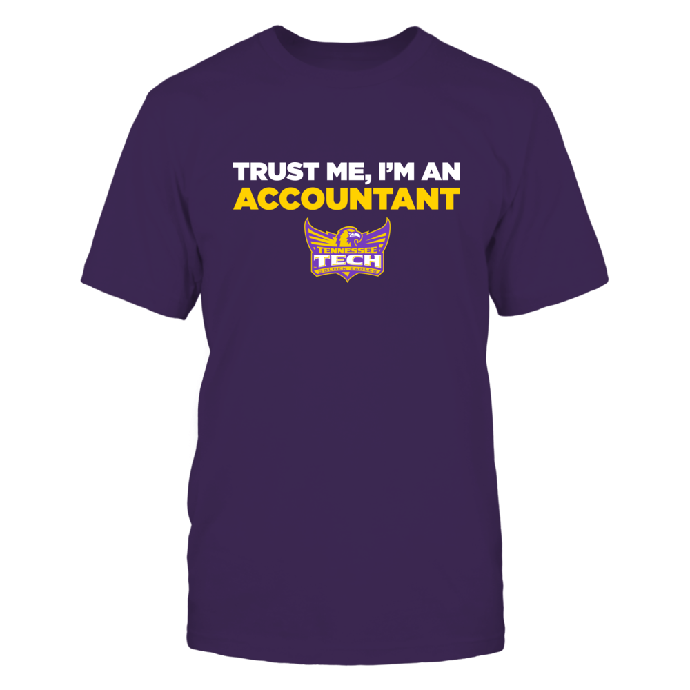 Tennessee Tech Golden Eagles - Trust Me - Accountant - Team Front picture