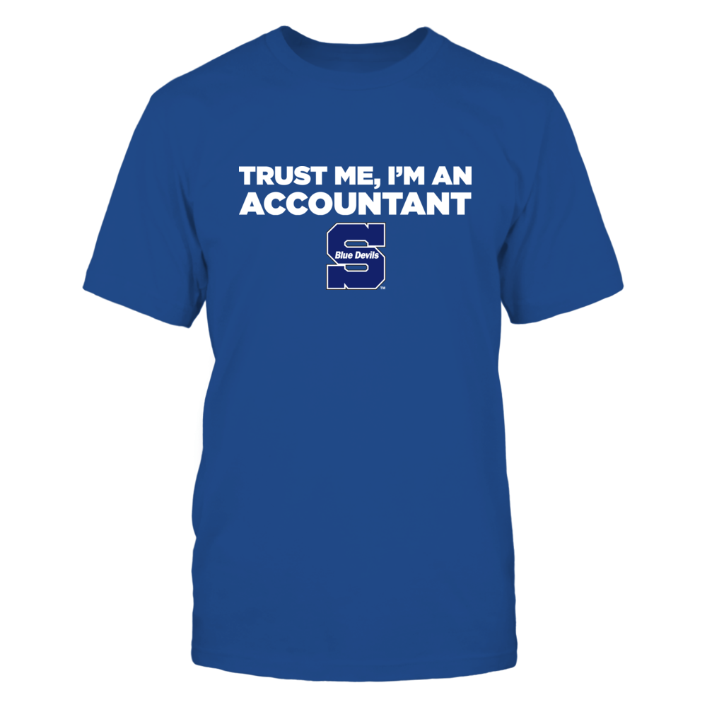 Wisconsin Stout Blue Devils - Trust Me - Accountant - Team Front picture