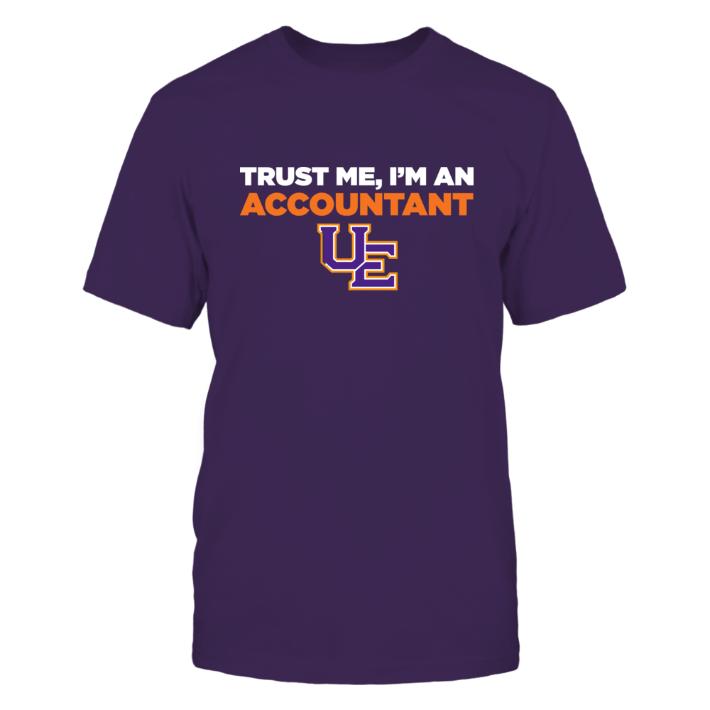 Evansville Purple Aces - Trust Me - Accountant - Team Front picture