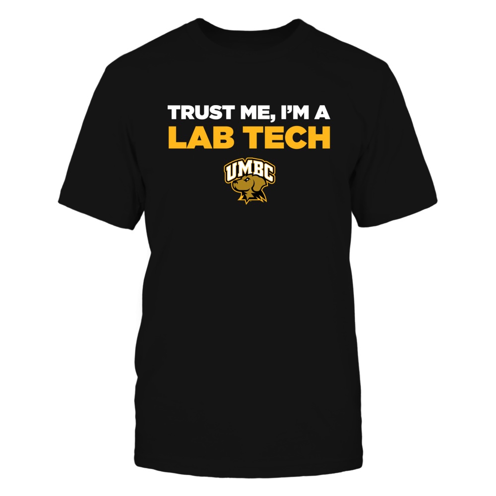 UMBC Retrievers - Trust Me - Lab Tech - Team Front picture