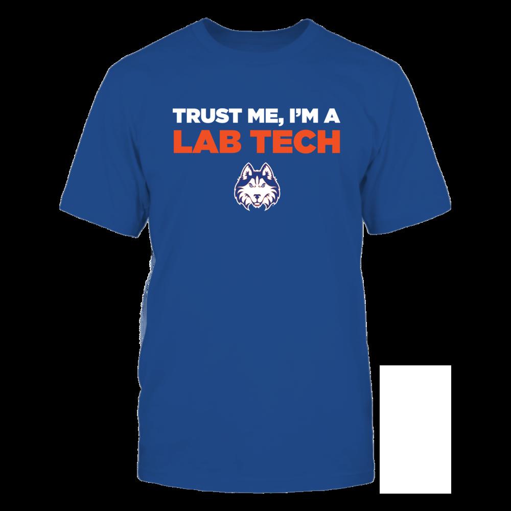 Houston Baptist Huskies - Trust Me - Lab Tech - Team Front picture