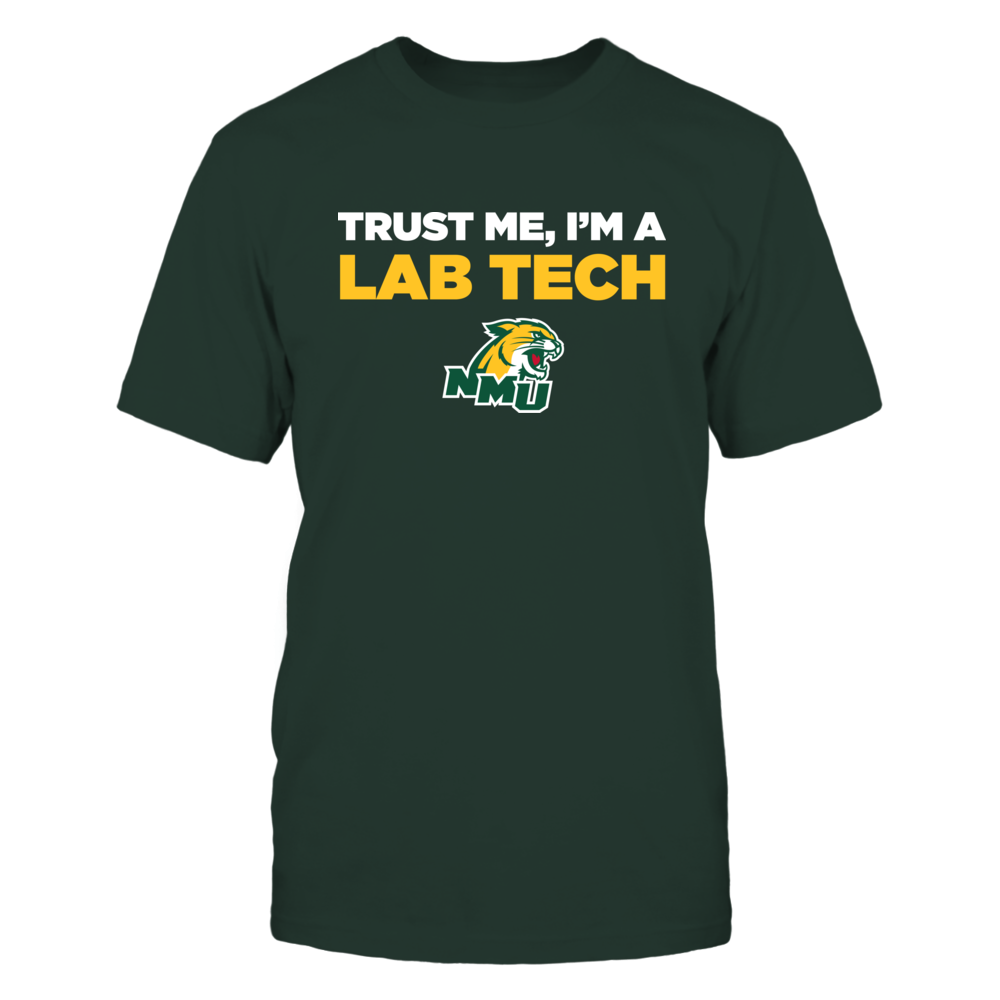 Northern Michigan Wildcats - Trust Me - Lab Tech - Team Front picture