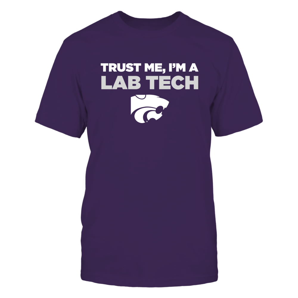 Kansas State Wildcats - Trust Me - Lab Tech - Team Front picture