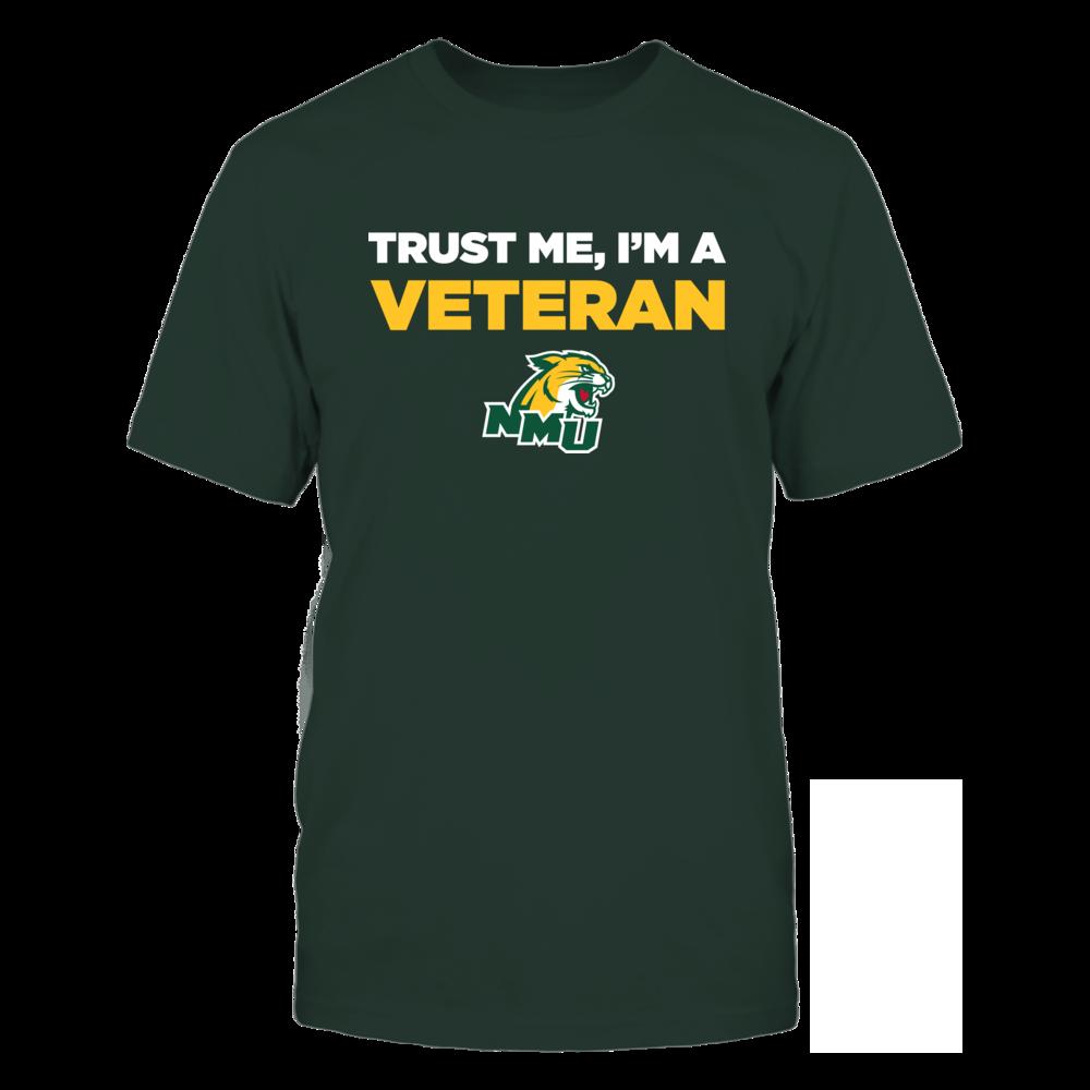 Northern Michigan Wildcats - Trust Me - Veteran - Team Front picture