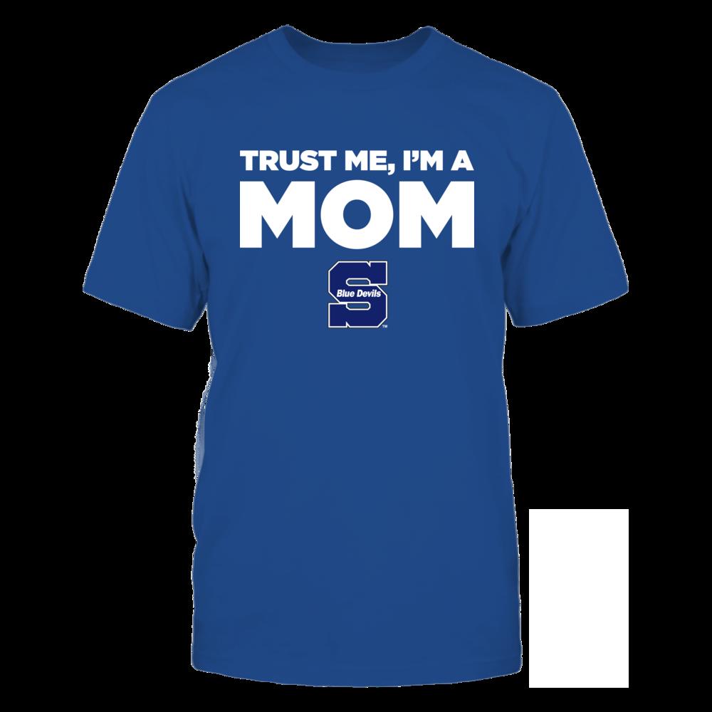 Wisconsin Stout Blue Devils - Trust Me - Mom - Team Front picture