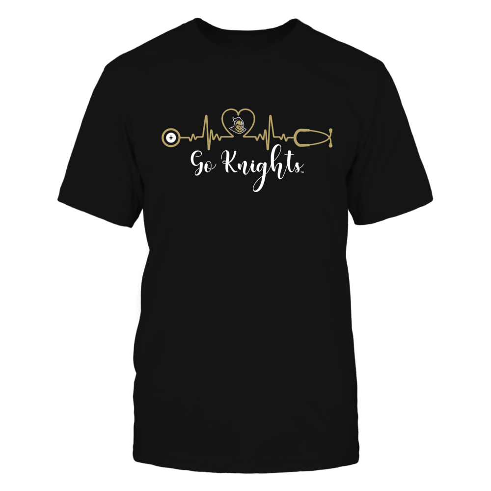 UCF Knights - Heart ECG - IF32-IC32-DS27 Front picture